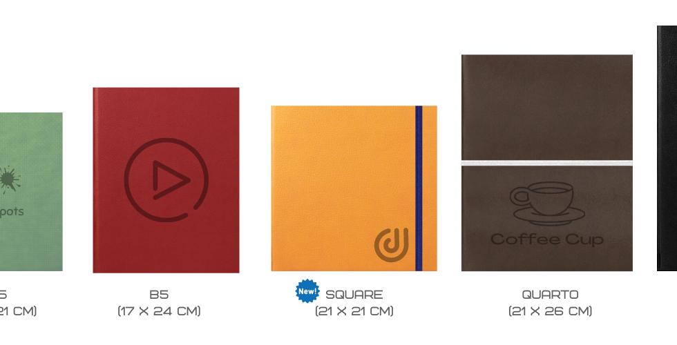 Doubble Notebooks Sizes
