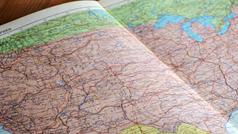 End Paper Maps