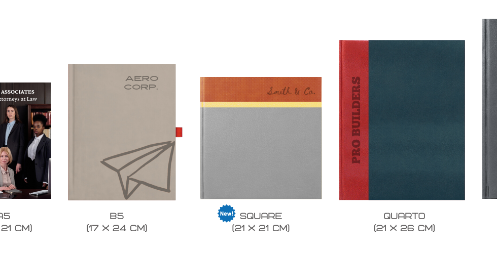 Scribble Notebook Sizes