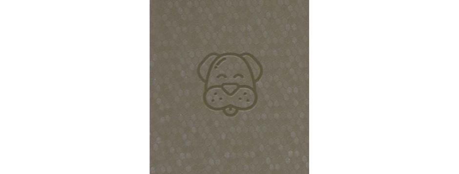 Silver Dog Spiral Notepad