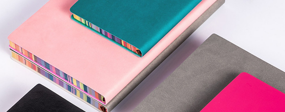 Customized Colored Edged Notebooks