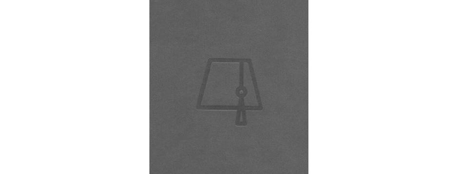 Grey Fez Tarboush Spiral Notepad