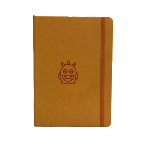 Spooky Monster A5 Elastic Notebook