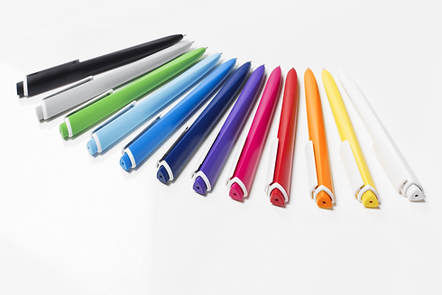 Torsion Plastic Pens