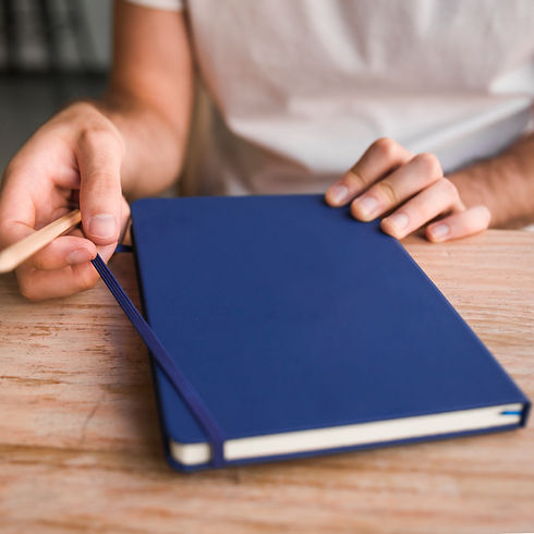 Branded Elastic Notebooks & Journals