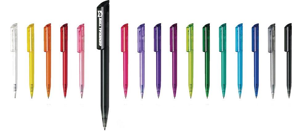 Maxema Zink Transparent Plastic Pens