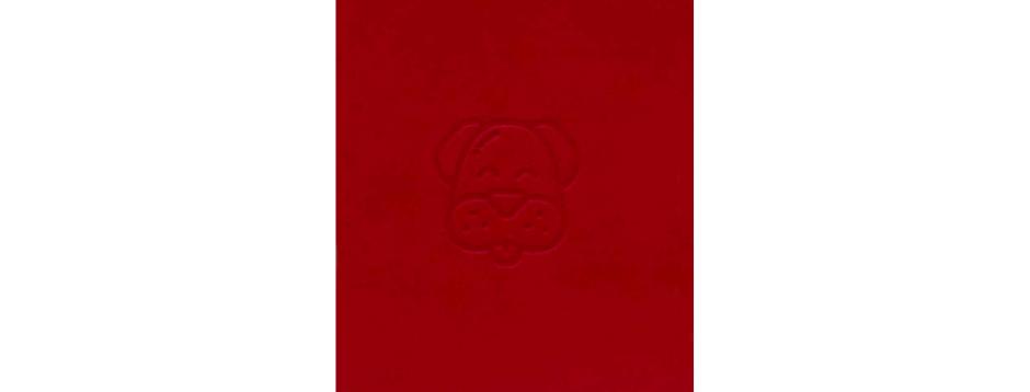 Red Dog Spiral Notepad