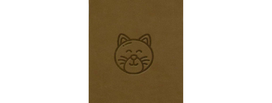 Brown Cat Spiral Notepad