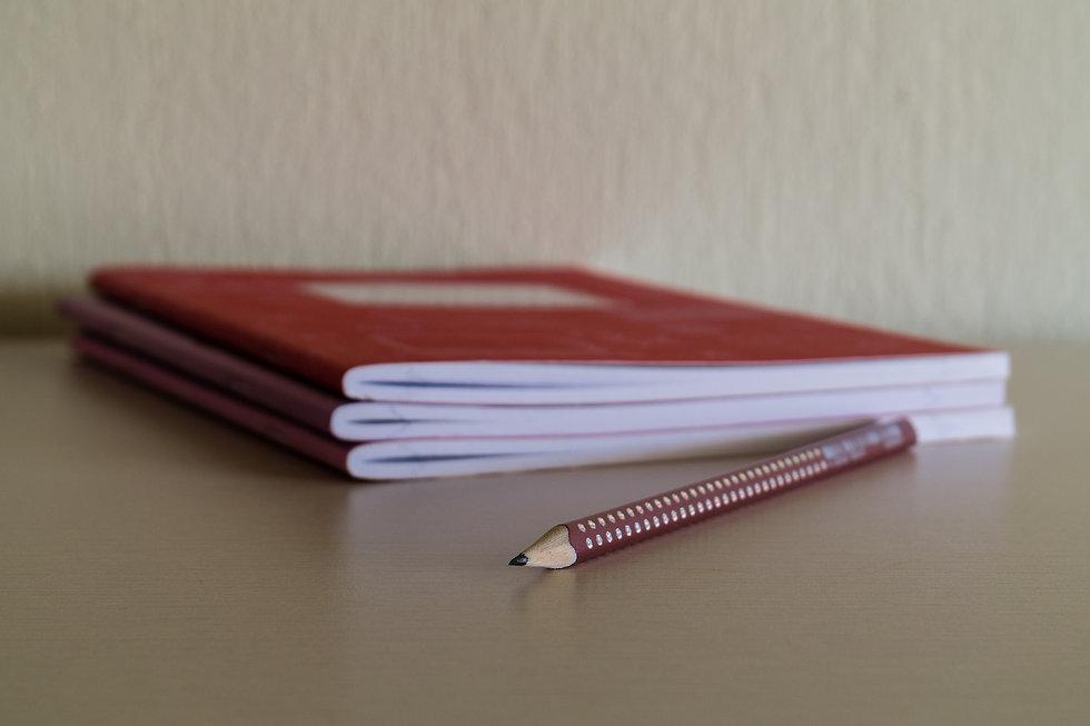 Customized Saddle Stitched Notebooks & Journals