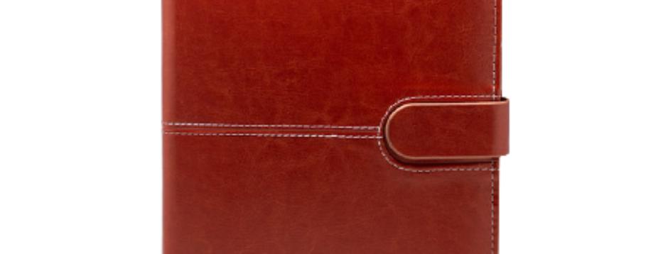 Brown Leather Organizer