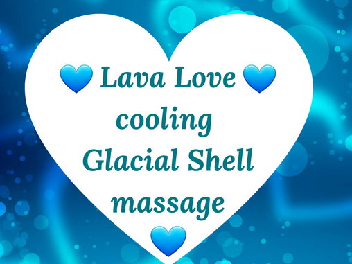 NEW Cooling Glacial Shell Massage