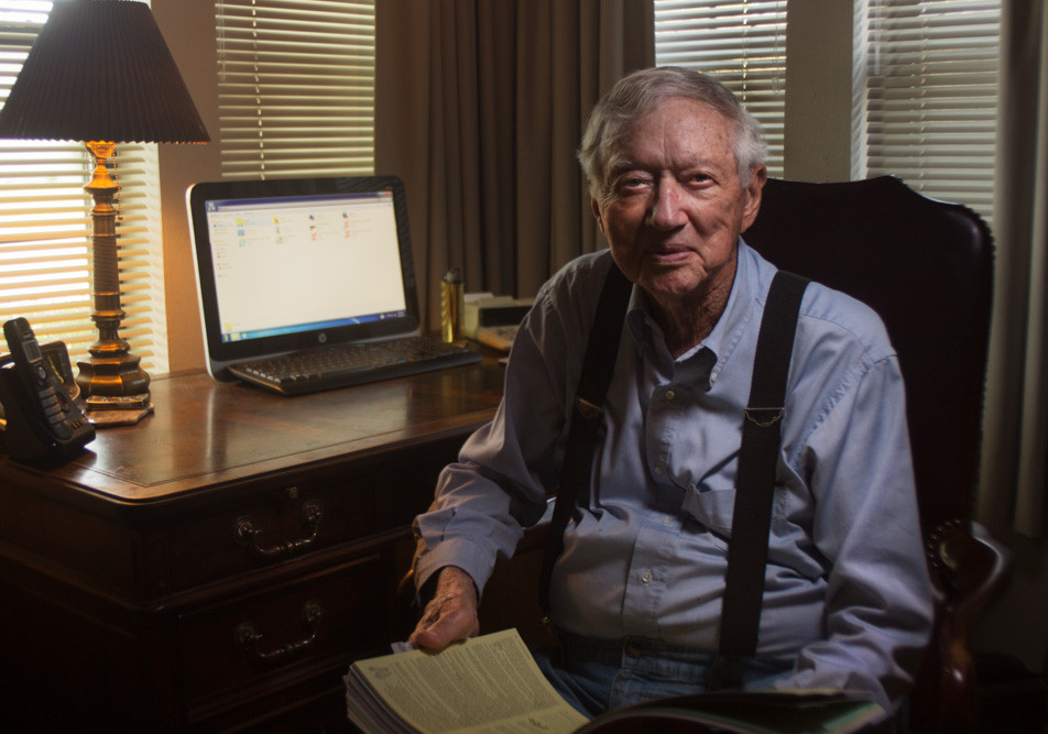 Colonel Don Bye In His Office (2018)
