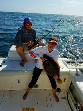 Trophy Fluke Fishing | New London, CT | Keepin' It Reel Sportfishing | Sea Bass
