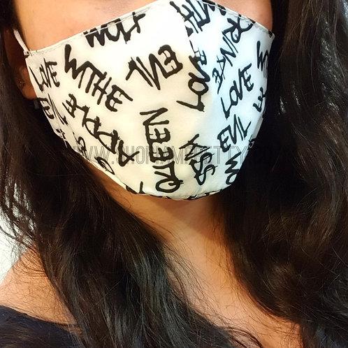Graffiti Face Mask Covering