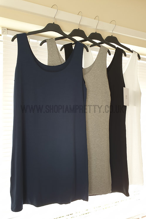 Longline Basic Cami Vest