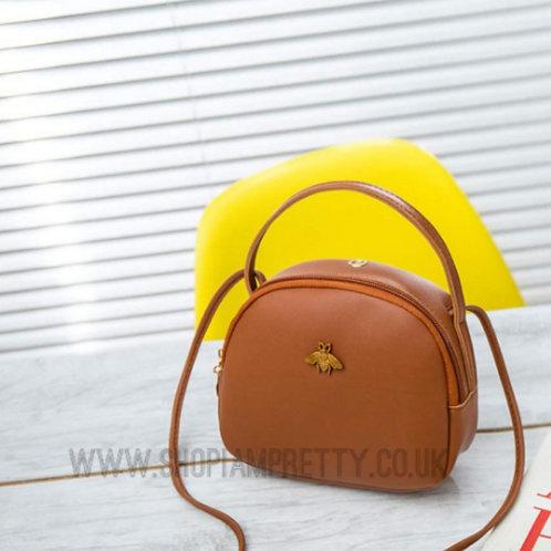 Bee Designer Inspired Cross Body Handbag