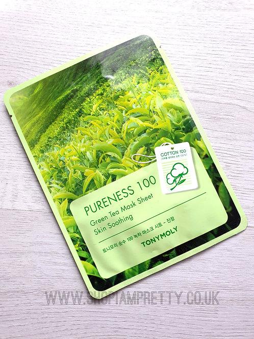 Tony Moly Pureness 100 GreenTea Soothing Sheet Mask