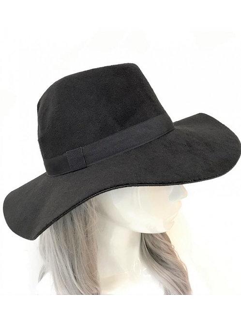 Ribbon Detail Fedora Hat