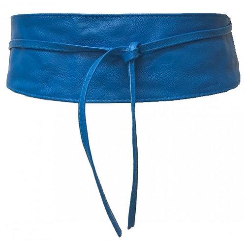 Blue Sash Wrap Obi Belt