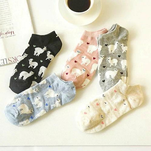 Alpaca 🦙 Socks 5 Pair Pack