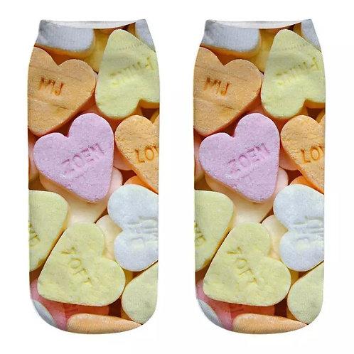 Love Heart Sweet Socks