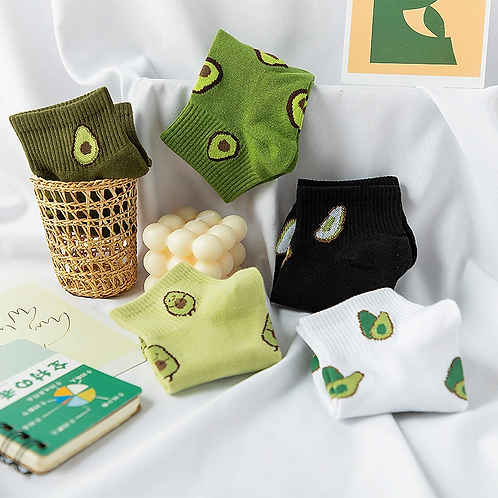 Avocado Socks 🥑 5 Pair Pack