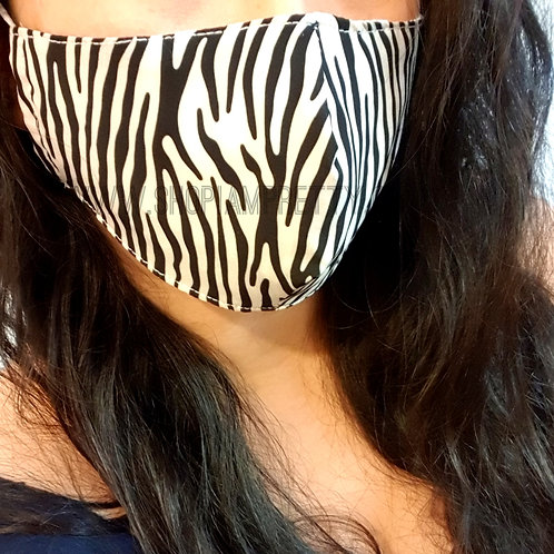 Tiger Face Mask Covering