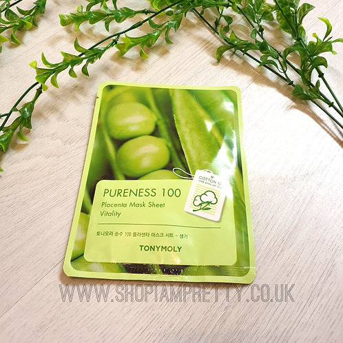 Tony Moly Pureness 100 Soy Placenta Sheet Mask