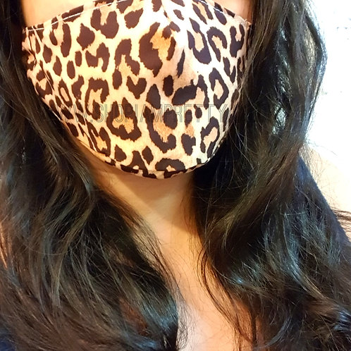 Leopard Face Mask Covering