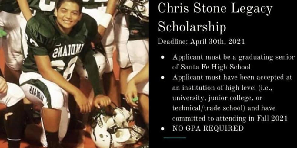 Chris Stone Legacy Scholarship Application