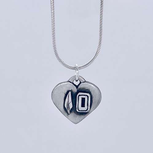 Santa Fe 10 Forever In Our Hearts Charm/Pendant