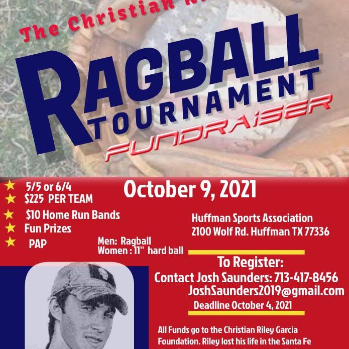 The Christian Riley Garcia Ragball Tournament Fundraiser