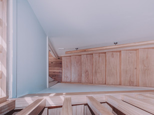 Best view of timber stairs for second story addition