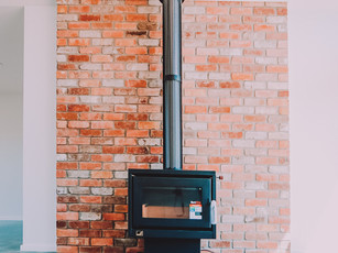 Rustic Fireplaces and Thermal Mass Floors