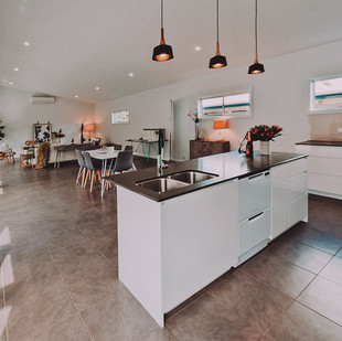 Contemporary eco house floor plan