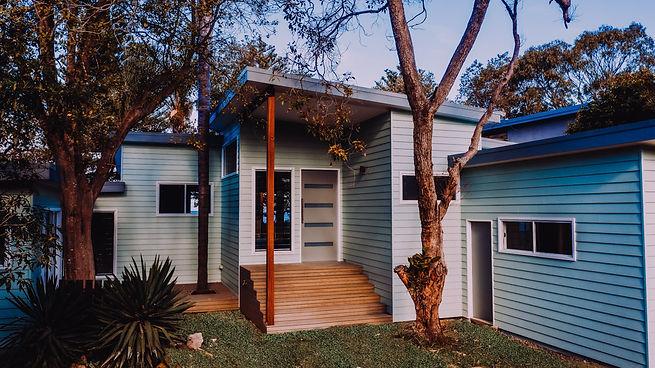 Coastal design, south coast sea change, renovation of a beach shack, fibro shack and weatherboards. adaptive reuse architecture