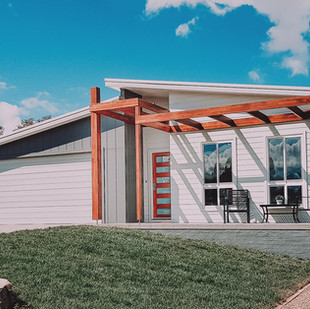 Designing Solar Passive House in a narrow north facing block