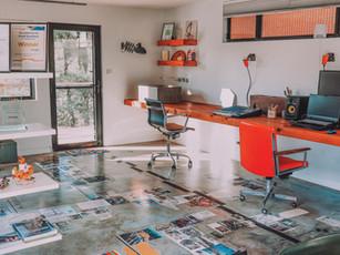 Burnished Concrete Floor best use of Solar Passive Design