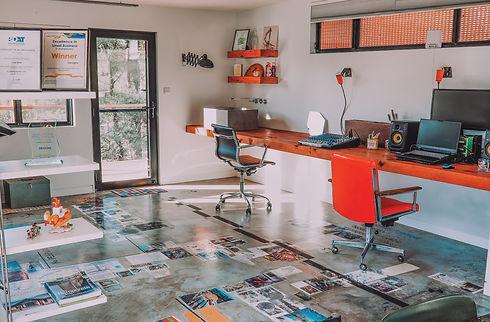 Low Energy Office Design, solar passive floor plan Australia, Batemans Bay Accredited Building Designer. Sustainable building design