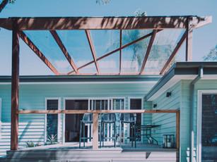 Indoor outdoor living coastal design