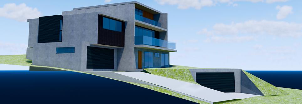 Designer Beach Cliff Living