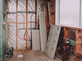 Insulate and waterproof your walls
