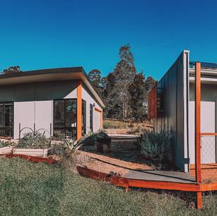 Best external shading Solar Passive House Malua Bay