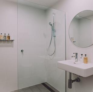 Bathroom eco tourst accommodation buiding design floor plan
