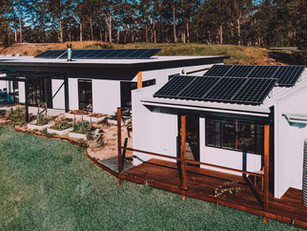 Paul Dolphin's Solar Passive House, Malua Bay