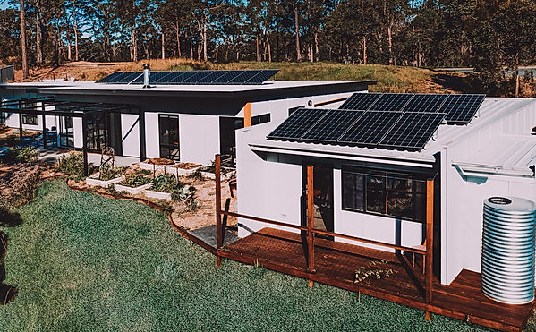 Paul Dolphin Designs Solar Passive House, Malua Bay Eco architecture, Award winning floor plan affordable low cost green building design