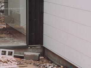 Internal Courtyard on slab indoor outdoor design