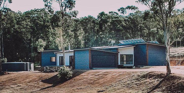 Moruya Rural Eco House Design by sutainble building designer PdD Building Design and built by Green Homes Australia South East NSW