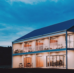 Eco Tourist accommodation with ultra efficient air conditioning and hot water heated by super efficient heat pumps