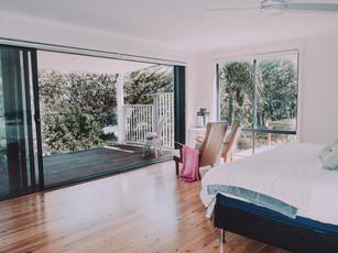 Master bedroom sutie with indoor outdoor living